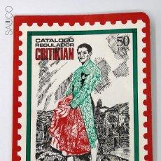 Sellos: CATALOGO REGULADOR CRITIKIAN. ANDORRA, SAHARA Y EXCOLONIAS . Lote 194568511