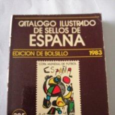Sellos: CATÁLOGO SELLOS ESPAÑA. 1983. Lote 195015951
