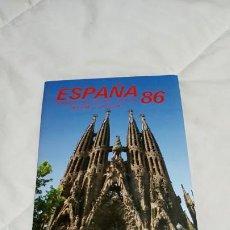Sellos: ALBUM ESTUCHE EMISIONES FILATELICAS ESPAÑA 1986. Lote 195304510