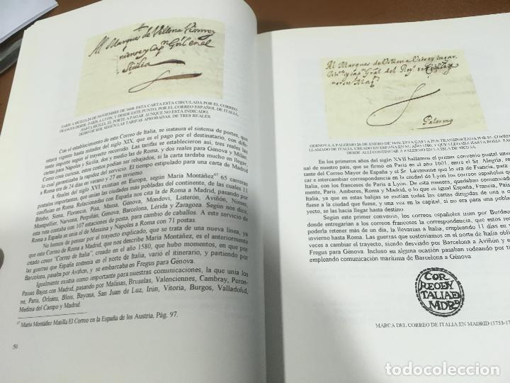 Sellos: HISTORIA DEL CORREO EN NAVARRA - ORÍGENES HASTA SIGLO XX - L. Mª Marín Arroyo - Zaragoza - 1999 - Foto 4 - 195324167