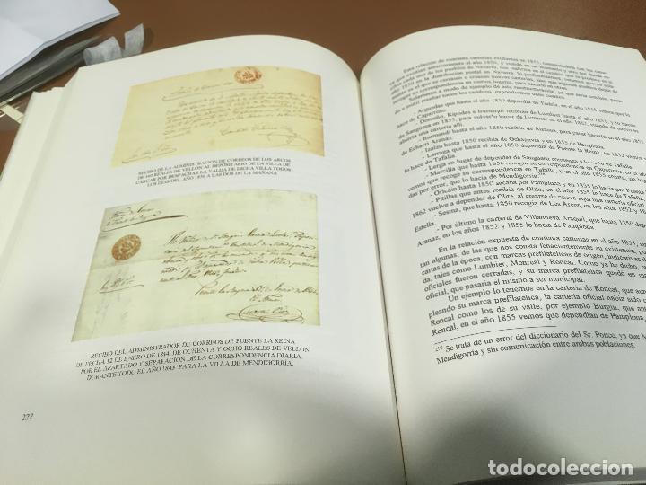 Sellos: HISTORIA DEL CORREO EN NAVARRA - ORÍGENES HASTA SIGLO XX - L. Mª Marín Arroyo - Zaragoza - 1999 - Foto 5 - 195324167