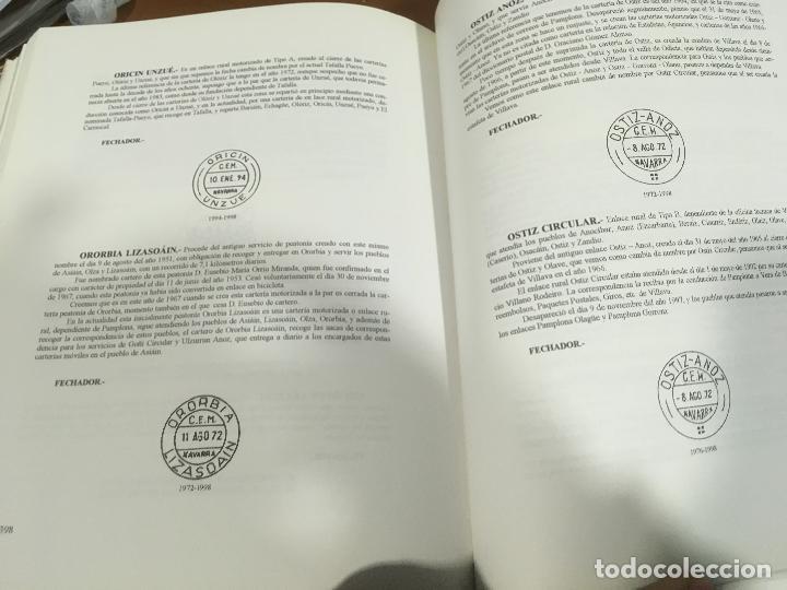 Sellos: HISTORIA DEL CORREO EN NAVARRA - ORÍGENES HASTA SIGLO XX - L. Mª Marín Arroyo - Zaragoza - 1999 - Foto 6 - 195324167