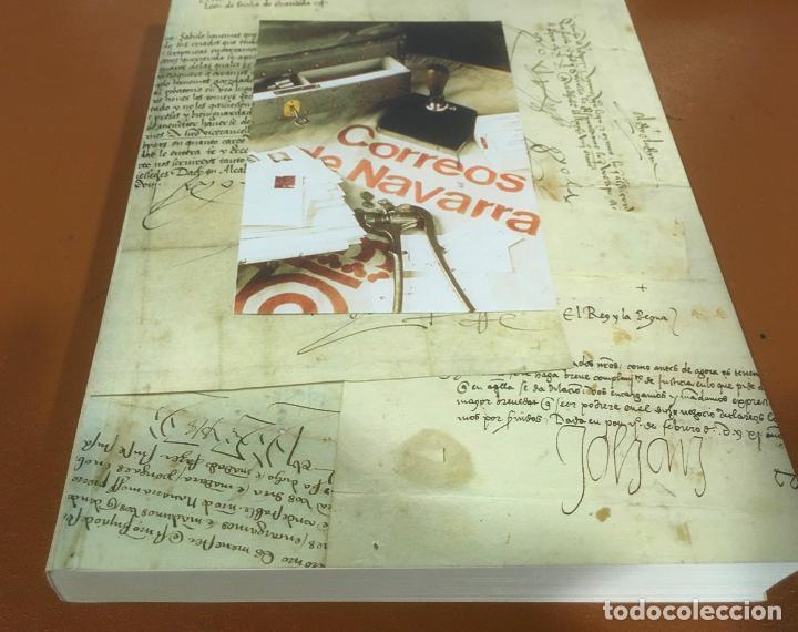 HISTORIA DEL CORREO EN NAVARRA - ORÍGENES HASTA SIGLO XX - L. Mª MARÍN ARROYO - ZARAGOZA - 1999 (Filatelia - Sellos - Catálogos y Libros)