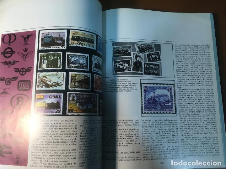 Sellos: ENCICLOPEDIA DEL SELLO / FILATELIA - SARPE - COMPLETA EN 6 TOMOS - Foto 6 - 195328928