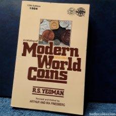 Sellos: CATÁLOGO MONEDAS DEL MUNDO..(MODERN WORLD COINS) AÑO 1984..RS.YEOMAN... Lote 195784456