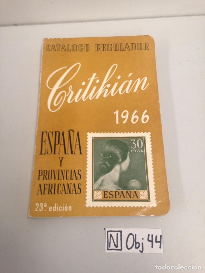 CATALOGO 1966 (Filatelia - Sellos - Catálogos y Libros)