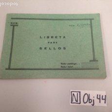 Sellos: LIBRETA PARA SELLOS. Lote 196304393