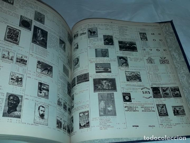Sellos: Antiguo catalogo de sellos Catalogue de Timbres Poste Europa Ivert Tellier Tomo II año 1974 - Foto 3 - 196816545