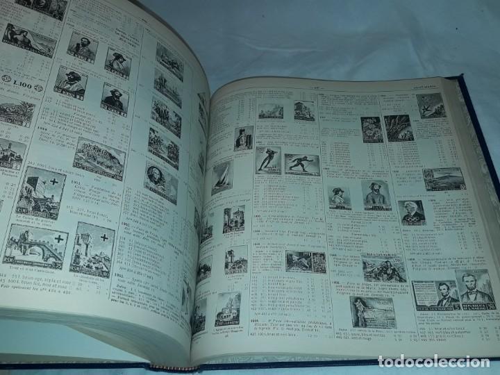 Sellos: Antiguo catalogo de sellos Catalogue de Timbres Poste Europa Ivert Tellier Tomo II año 1974 - Foto 7 - 196816545