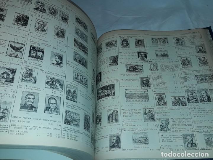 Sellos: Antiguo catalogo de sellos Catalogue de Timbres Poste Europa Ivert Tellier Tomo II año 1974 - Foto 10 - 196816545