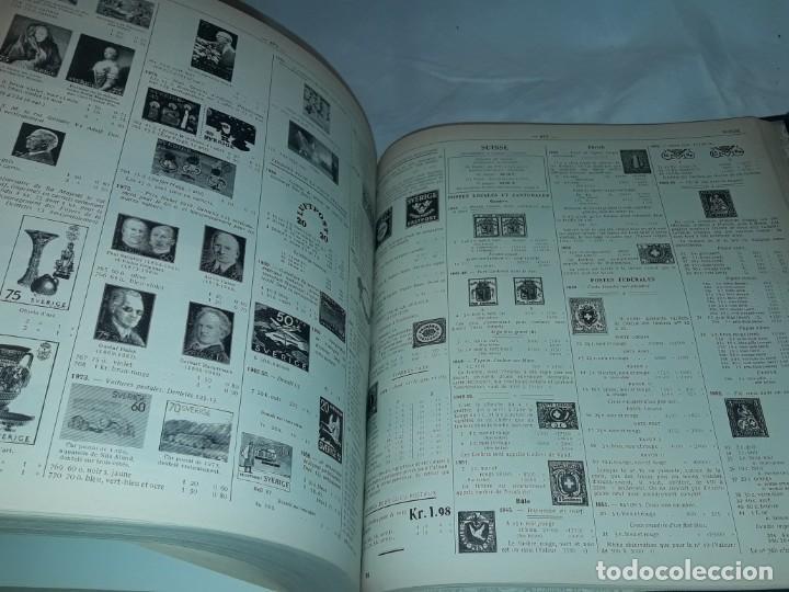 Sellos: Antiguo catalogo de sellos Catalogue de Timbres Poste Europa Ivert Tellier Tomo II año 1974 - Foto 11 - 196816545