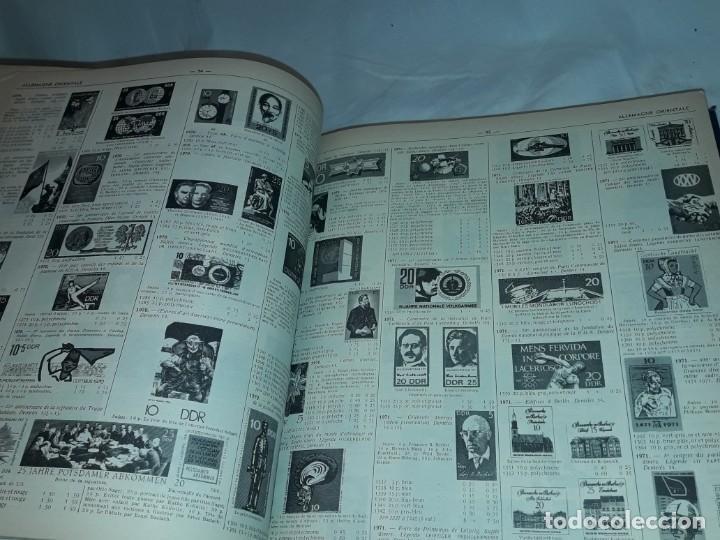 Sellos: Antiguo catalogo de sellos Catalogue de Timbres Poste Europa Ivert Tellier Tomo II año 1974 - Foto 30 - 196816545
