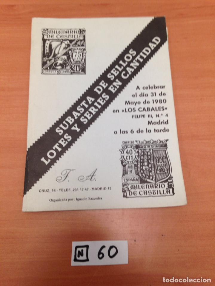 CATALOGO DE SELLOS (Filatelia - Sellos - Catálogos y Libros)