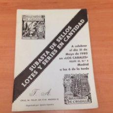 Sellos: CATALOGO DE SELLOS. Lote 196938816