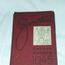 Sellos: ANTIGUO CATALOGO SELLOS ZUMSTEIN EUROPA AÑO 1945. Lote 197397772