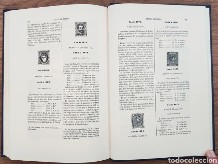 Sellos: Reseña Histórico - Descriptiva de los Sellos de Correo de España Antonio Fernández Duro - Foto 3 - 95417094