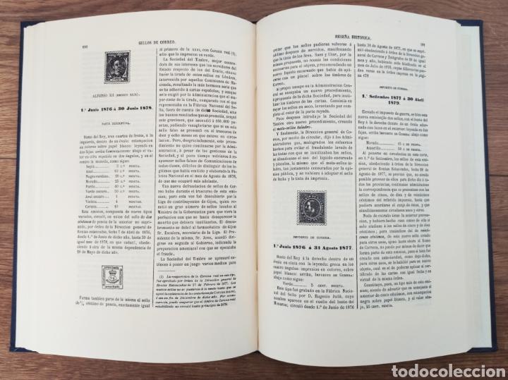 Sellos: Reseña Histórico - Descriptiva de los Sellos de Correo de España Antonio Fernández Duro - Foto 4 - 95417094