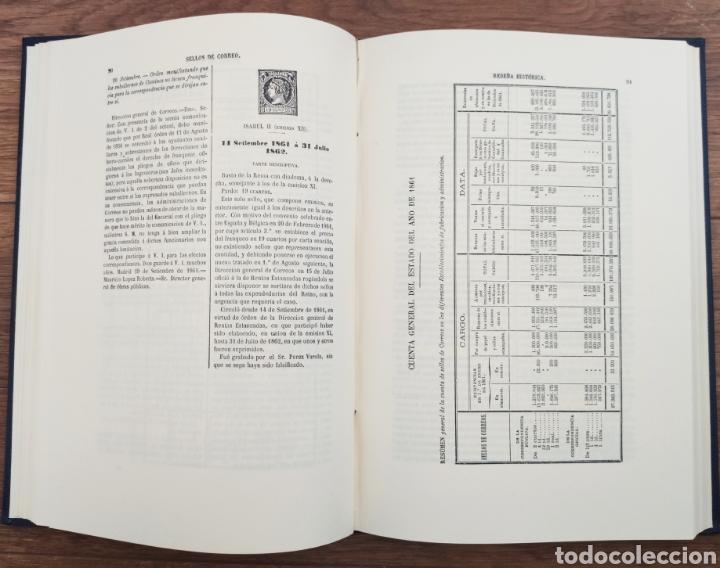Sellos: Reseña Histórico - Descriptiva de los Sellos de Correo de España Antonio Fernández Duro - Foto 5 - 95417094