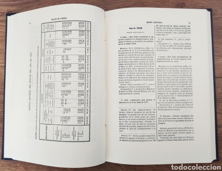 Sellos: Reseña Histórico - Descriptiva de los Sellos de Correo de España Antonio Fernández Duro - Foto 6 - 95417094