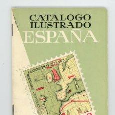 Sellos: CATÁLOGO ILUSTRADO ESPAÑA 1975. RICARDO DE LAMA.YVERT Y TELLIER 1975. Lote 197723520