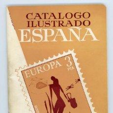 Sellos: CATÁLOGO ILUSTRADO ESPAÑA 1976. RICARDO DE LAMA.YVERT Y TELLIER 1976. Lote 197724553
