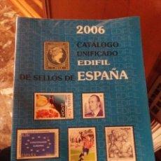 Sellos: CATALOGO EDIFIL 2006. Lote 197908372