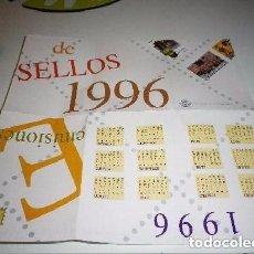 Sellos: AVANCE DEL PROGRAMA DE EMISIONES DE SELLOS 1996 - ESPAÑA. Lote 198040026