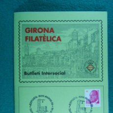 Sellos: EXPOFIL SANT ANDREU-TORROELLA DE MONTGRI-2008-FILATELIA I NUMISMATICA-SOFIGI-BUTLLETI Nº 258. . Lote 198556766
