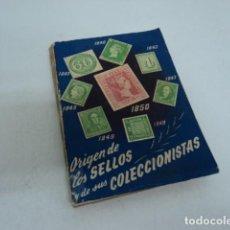 Sellos: LIBRO ANTIGUO EL ORIGEN DE LOS SELLOS Y DE SUS COLECCIONISTAS EDITORIAL SOPENA J. MAJO TOCABENS. Lote 198691613
