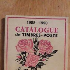 Sellos: 1 CATALOGO DE ** LAS FLORES 1988 - 1990 SELLOS DEL MUNDO **. EDIT. A.V EN FRANCES . . Lote 198793435