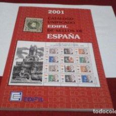 Sellos: LIBRO CATÁLOGO UNIFICADO DE EDIFIL DE SELLOS DE ESPAÑA 2001 . Lote 198855827