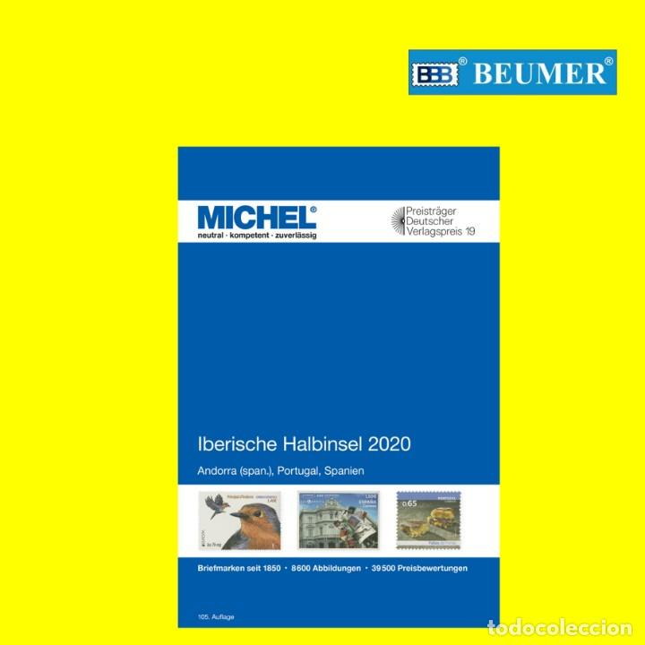 CATÁLOGO MICHEL, DE PAÍSES DE LA PENINSULA IBERICA ( AND.ESPAÑOLA-ESPAÑA-PORTUGAL).EDICIÓN 2020 (Filatelia - Sellos - Catálogos y Libros)