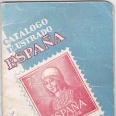 Sellos: CATALOGO ILUSTRADO ESPAÑA RICARDO DE LAMA EDICIÓN 1952 SEGUNDA EDICIÓN. Lote 199902432