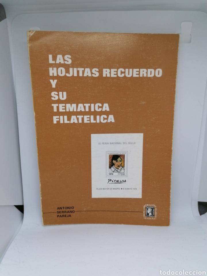 CATALOGO HOJITAS RECUERDO TEMÁTICAS ESPAÑA 1976 ANTONIO PAREJA (Filatelia - Sellos - Catálogos y Libros)
