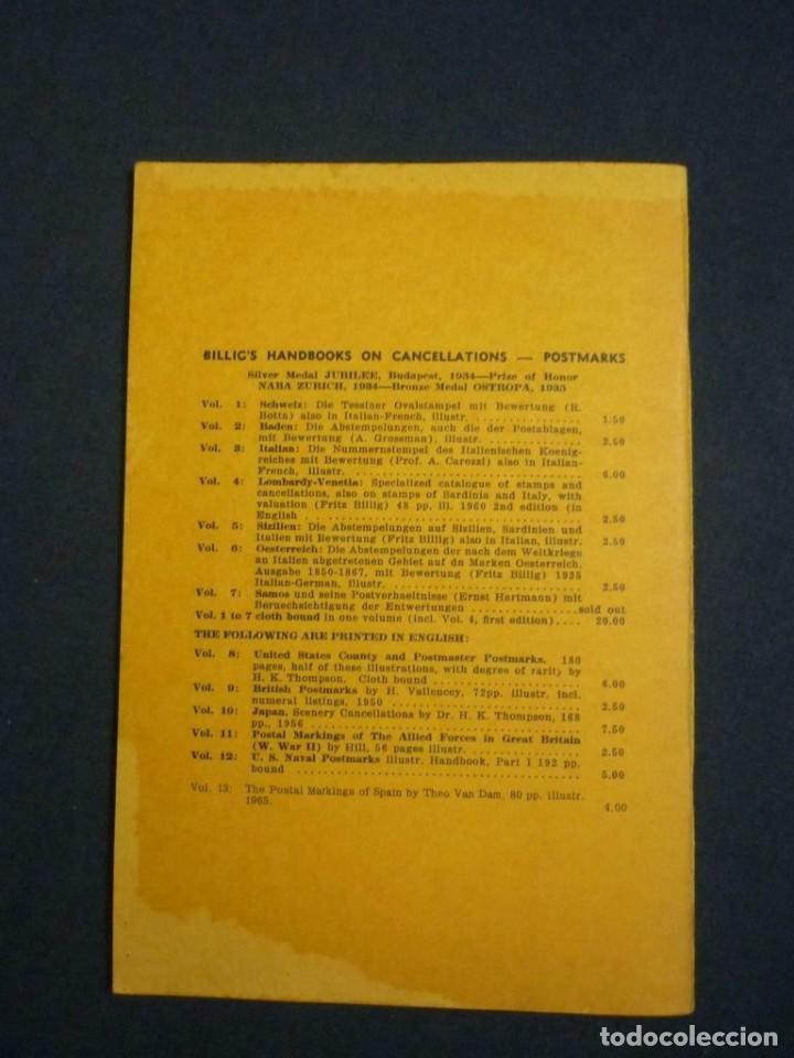Sellos: The Postal Markings of Spain - Theo Van Dam 74 páginas - Foto 3 - 200889158