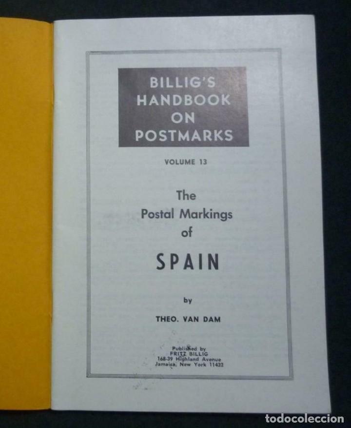 Sellos: The Postal Markings of Spain - Theo Van Dam 74 páginas - Foto 4 - 200889158