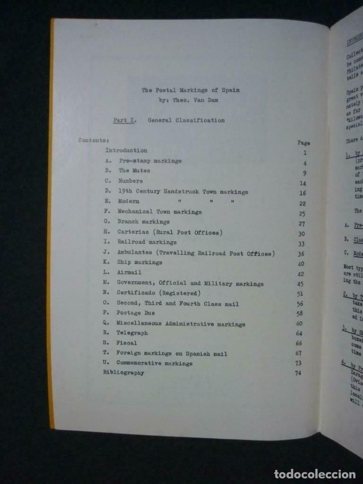Sellos: The Postal Markings of Spain - Theo Van Dam 74 páginas - Foto 5 - 200889158