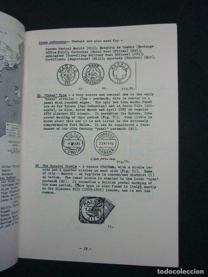 Sellos: The Postal Markings of Spain - Theo Van Dam 74 páginas - Foto 2 - 200889158