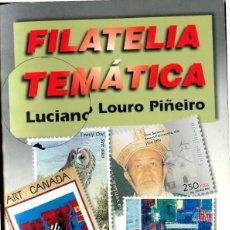 Sellos: LIBRITO DE AFINSA TITULADO FILATELIA TEMATICA POR LUCIANO LOURO (VER FOTOS Y EL INDICE). Lote 201654051
