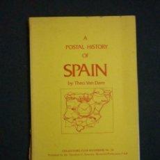Sellos: A POPSTAL HISTORY OF SPAIN (THEO VAN DAM). Lote 201799060