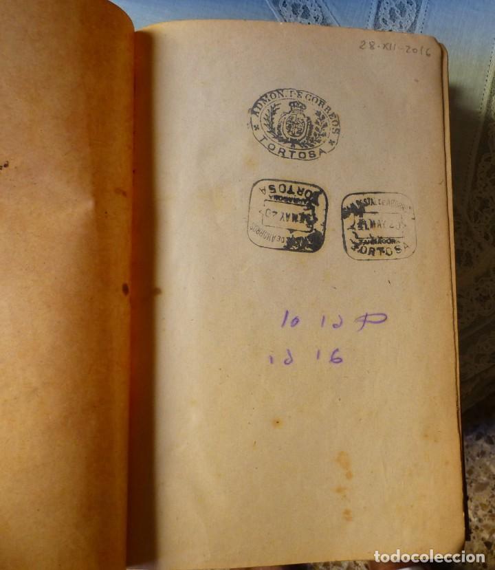 Sellos: Lecciones de Legislación de Correos por D. Carlos Flórez Madrid 1.916 584 páginas - Foto 4 - 204236496