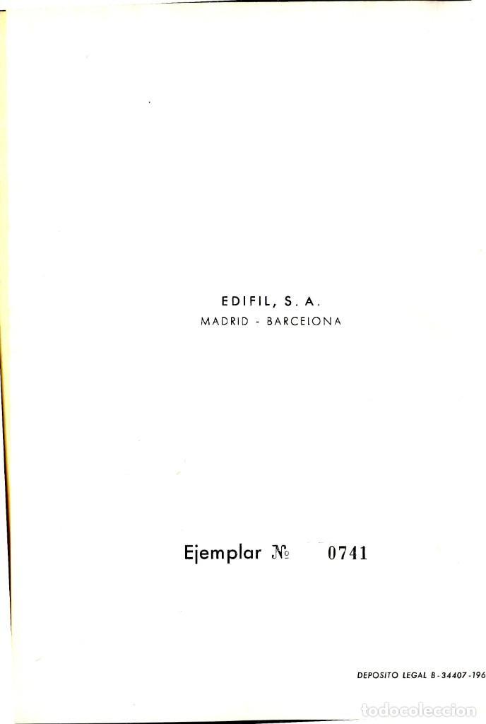 Sellos: CATALOGO UNIFICADO Y ESPECIALIZADO DE ESPAÑA Y DEPENDENCIAS POSTALES 1966 EDICION EDIFIL NUMERADA - Foto 3 - 204421422