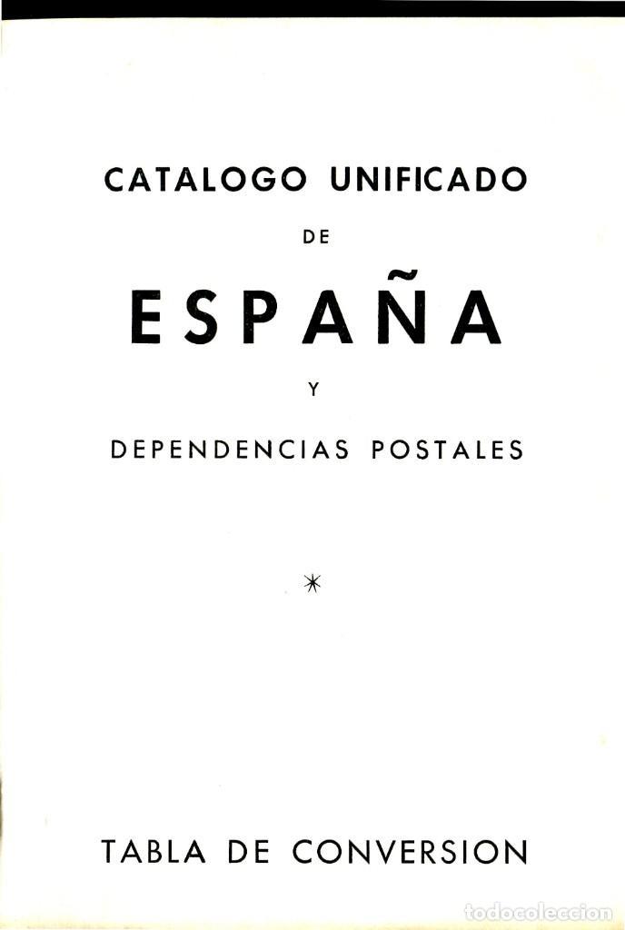 Sellos: CATALOGO UNIFICADO Y ESPECIALIZADO DE ESPAÑA Y DEPENDENCIAS POSTALES 1966 EDICION EDIFIL NUMERADA - Foto 4 - 204421422