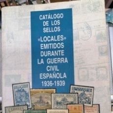 Sellos: CATALOGO VIÑETAS LOCALES GUERRA CIVIL EDITADO POR CORREOS EN 1995. Lote 205266160