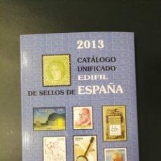 Sellos: CATALOGO ESPAÑA 2013 NUEVO. Lote 205513180