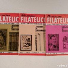 Sellos: COLECCIONISMO FILATÉLICO. 57-64-66 (ASOCIACIÓN DE COLECCIONISTAS). Lote 205578916