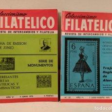 Sellos: COLECCIONISMO FILATÉLICO 51 CENTENARIO MIGUEL PRIMO DE RIVERA. MONUMENTOS 52 TRAJE REGIONAL DE ÁLAVA. Lote 205580280