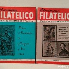 Sellos: COLECCIONISMO FILATÉLICO. 34 (FELICES NAVIDADES Y…) 36 (LA FÁBRICA NACIONAL DE MONEDA Y TIMBRE.. Lote 205594620
