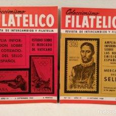 Sellos: COLECCIONISMO FILATÉLICO. 31: ESTUDIO SOBRE EL MERCADO DE VATICANO) 32: MERCADO DEL SELLO.. Lote 205594793