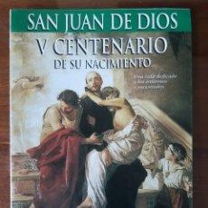 Sellos: EXPOSICIÓN FILATÉLICA V CENTENARIO NACIMIENTO SAN JUAN DE DIOS GRANADA 1996 PROGRAMA MARCAS POSTALES. Lote 205734011